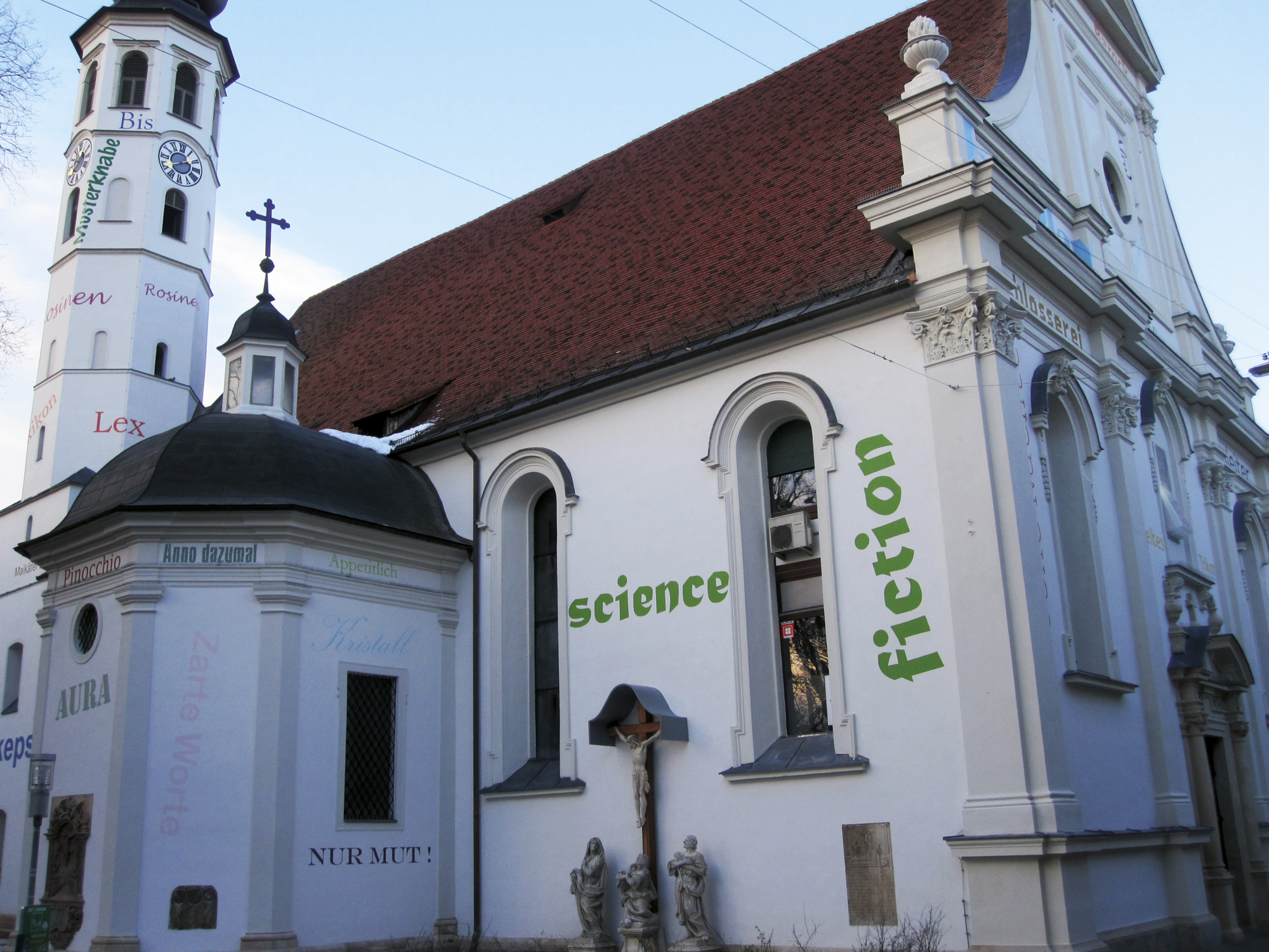 Andrä Kirche - Außen
